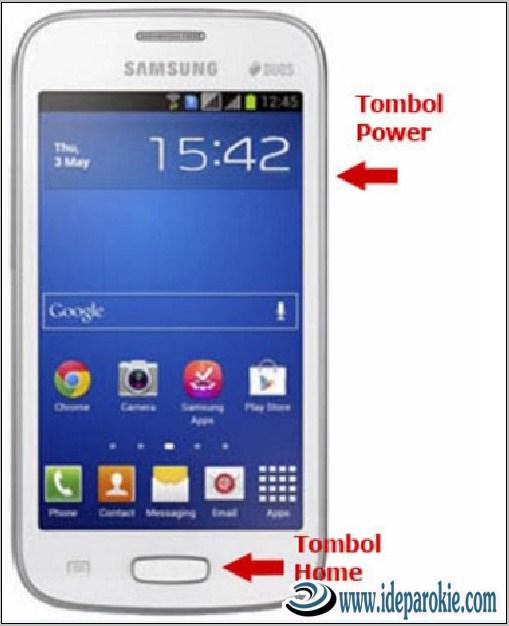 Cara Mengambil Gambar Tampilan Layar pada Samsung Galaxy V