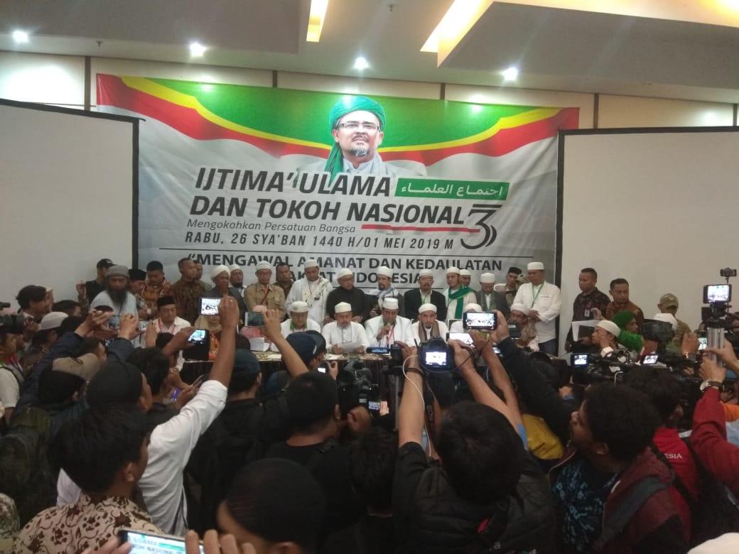 Hasil Ijtima' Ulama 3, Perseteruan Umat vs Jokowi Semakin Tajam