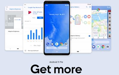 Daftar Merk dan Jenis HP Yang Support Android Pie 9.0
