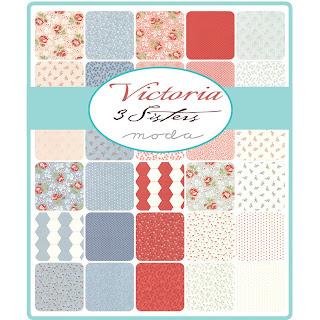 Moda Victoria Fabric by 3 Sisters for Moda Fabrics