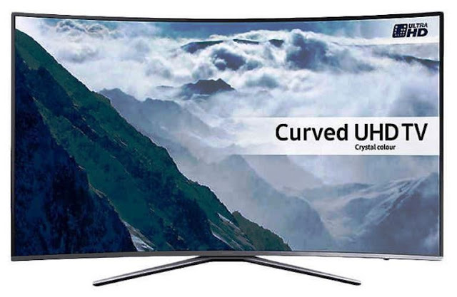 Harga TV LED Samsung UA55KU6500 Curved Smart TV UHD 55 Inch