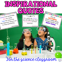 Inspirational quotes for your classroom