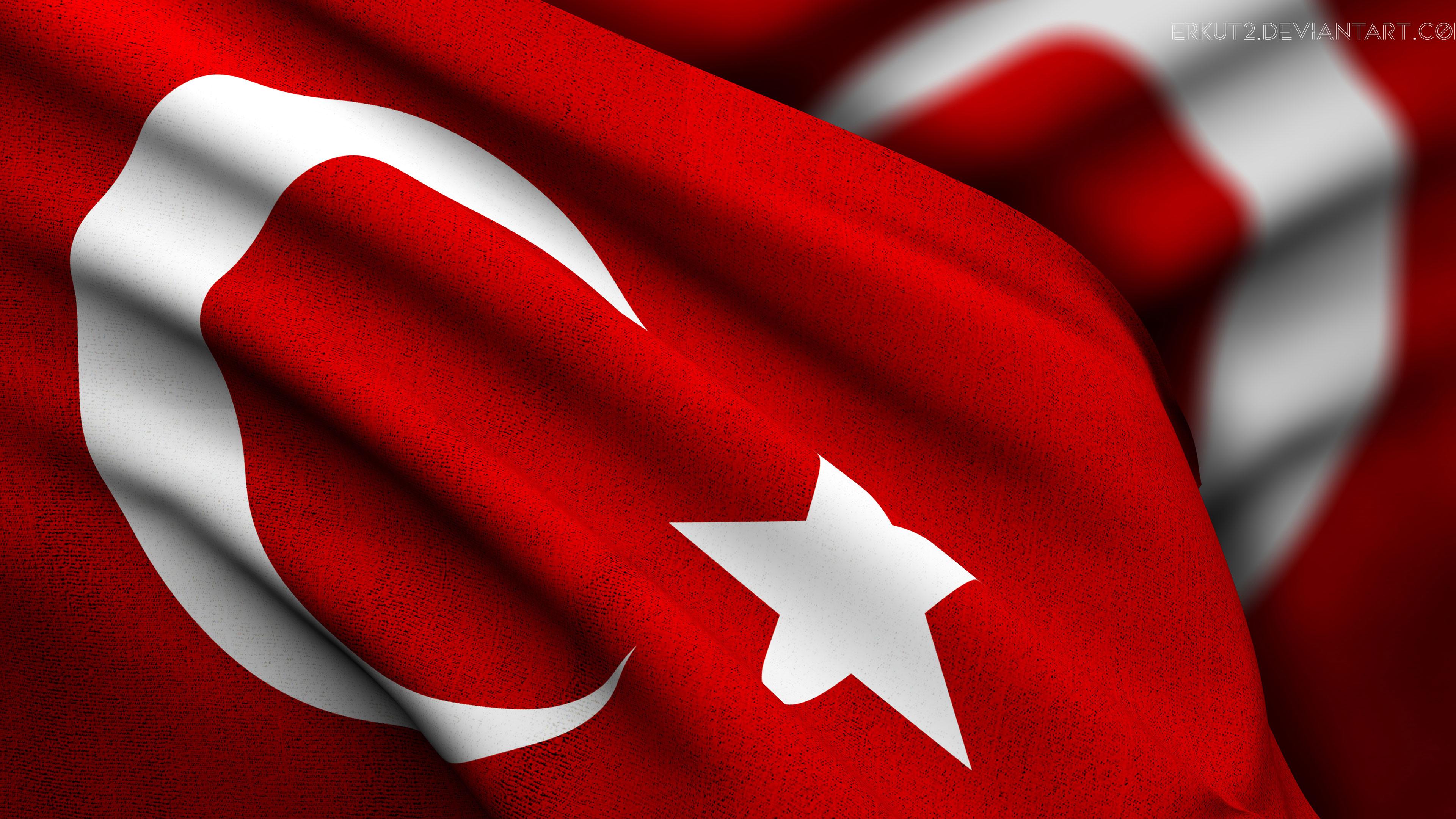 Masaüstü Arka Plan Hd Türk Bayrağı
