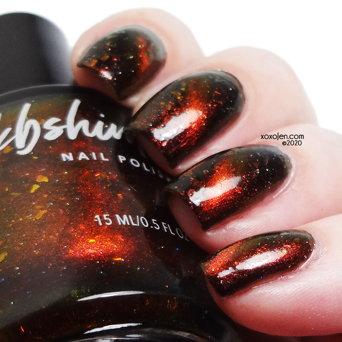 xoxoJen's swatch of KBShimmer Light My Fire