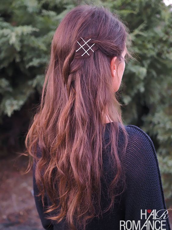 25 Bobby Pin Hairstyles You Havent Tried but Should - Glamour