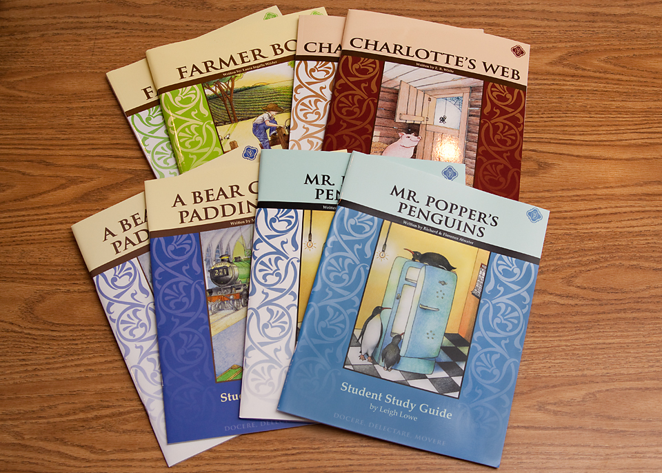 Literature Study Guides {Memoria Press Review}