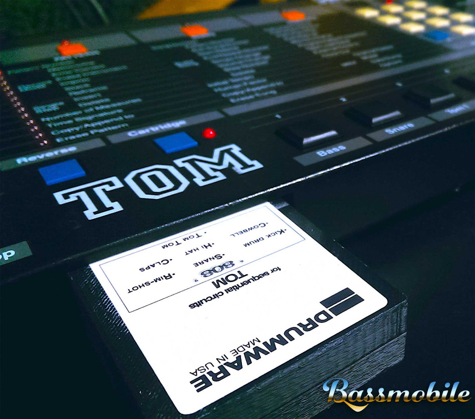 Roland TR 808 Expansion Sound Cartridge For The Sequential Circuits TOM