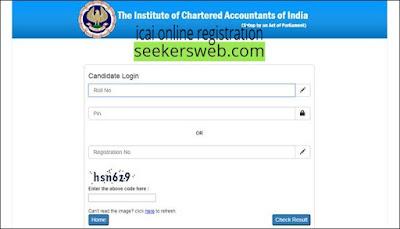 icai online registration with icaionlineregistration