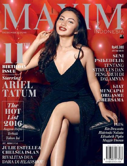 Download Majalah MAXIM Indonesia Edisi Desember 2016 Ariel Tatum www.insight-zone.com