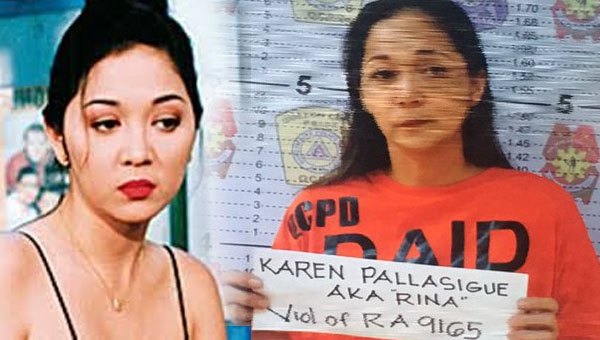 Ex-sexy star Sabrina M. gets arrested by cops in anti-illegal drug operation
