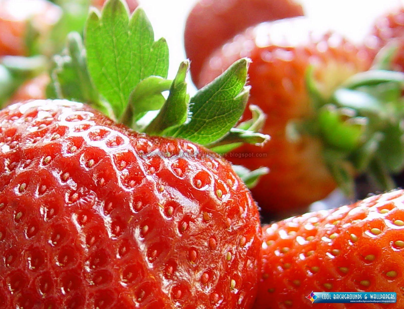 NIm 2011: Fresh Strawberry HD Wallpapers