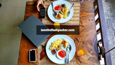 The Widyas Luxury Villa Bali | Western Breakfast