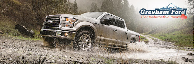 2017 Ford F150 truck for sale at Gresham Ford