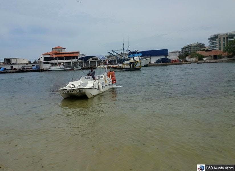 Táxi marítimo GUga Tour Cabo Frio