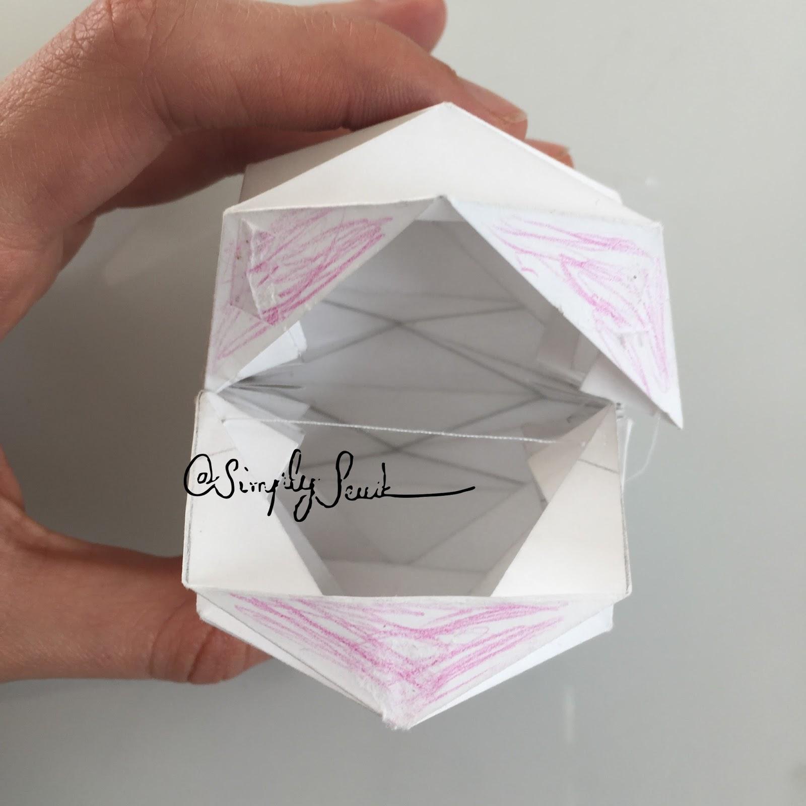 Comment Faire Des Boules En Papier simply seube: diy boules origami