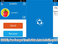 Shareit, Cara Tercepat Transfer Data Antar Android, Up To 100MB dalam 5 Detik