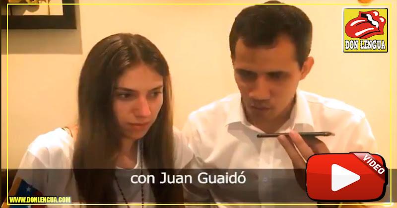 Juan Guaidó llamó por teléfono a venezolanos inscritos para la ayuda humanitaria