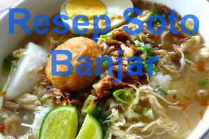 Resep Soto Banjar Asli Spesial Enak
