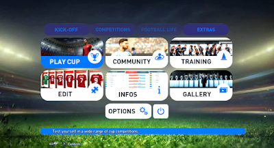 PES 2013 Theme PES 2019 Ultimate Graphic Menu