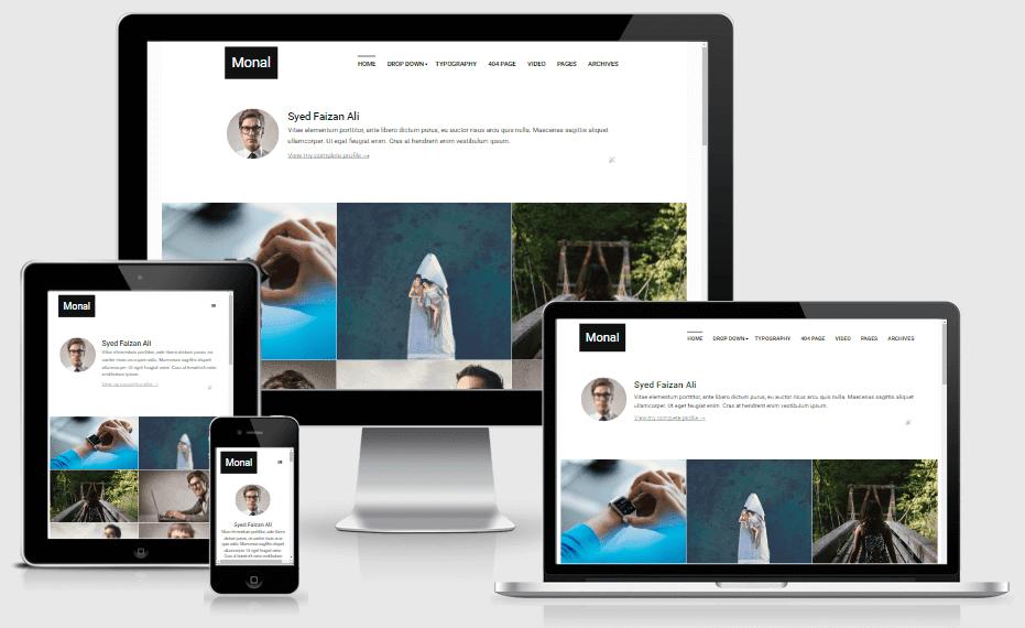 Monal v3.0 - Responsive Portfolio & Personal Blogger Template