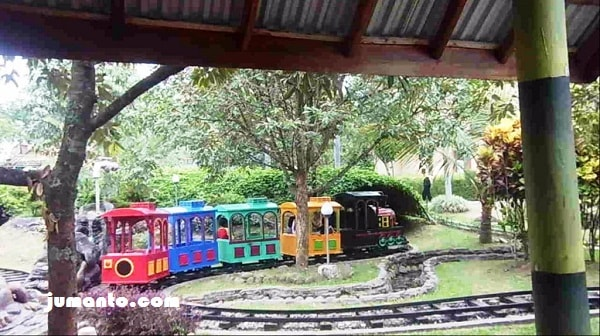 mini train sanggaluri park