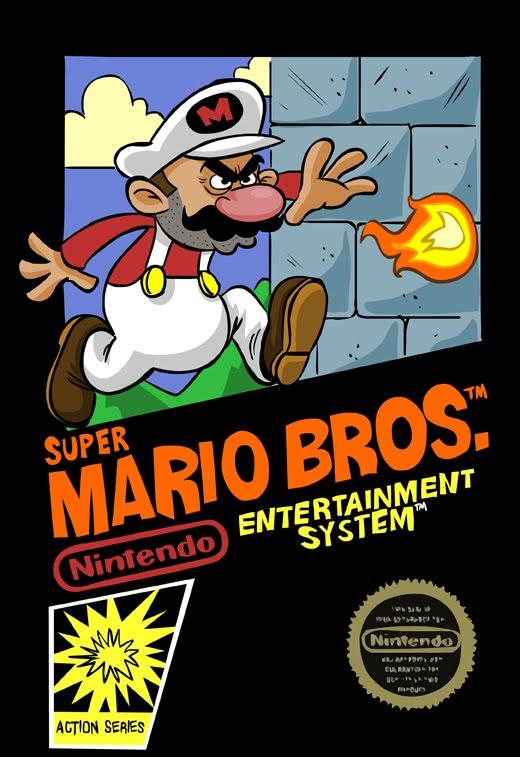 Brendan Tobin Nes Super Mario Bros Box Art
