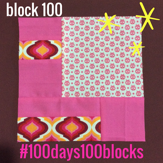 block 100 - 100 days100 blocks