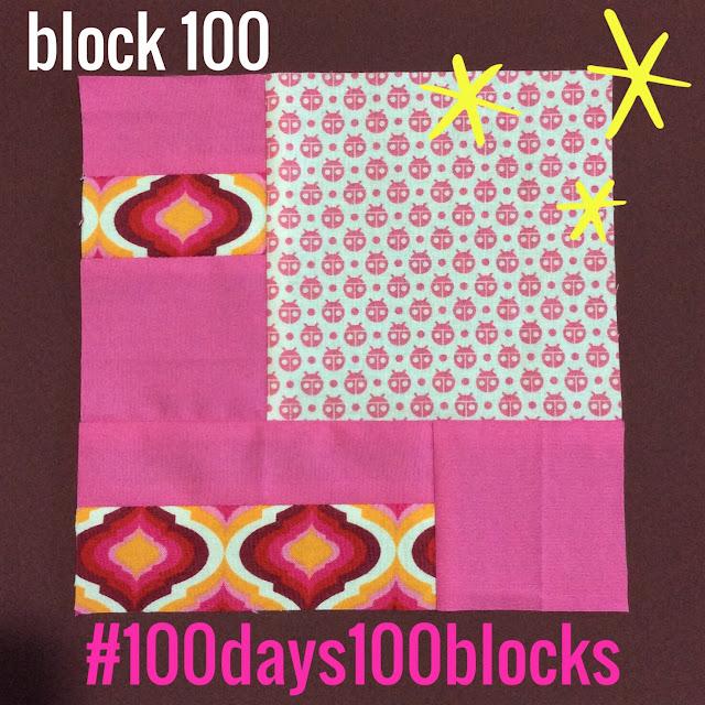 block 100 - 100 days100 blocks