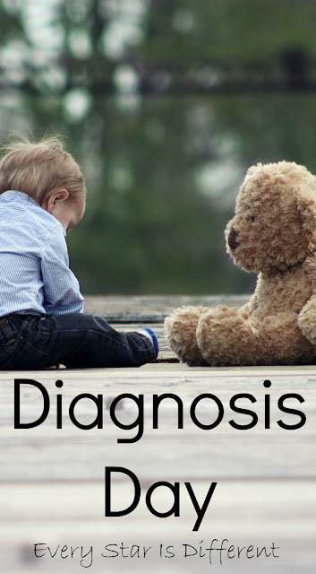 Diagnosis Day-The day a parent finds out her child has special needs
