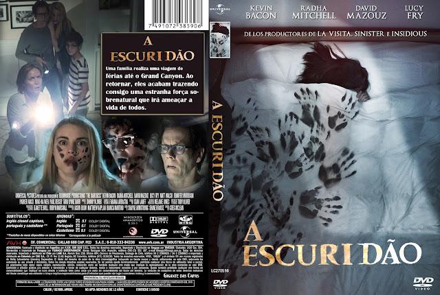 Capa DVD A Escuridão