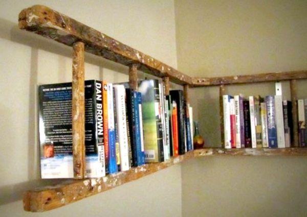 Unusual diy shelves cozy little house for Unique shelves diy