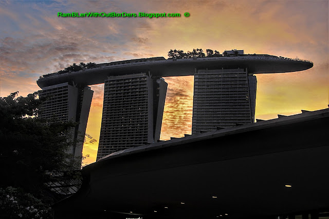 Marina Bay Sands Hotel, Gardens by the Bay, Singapore