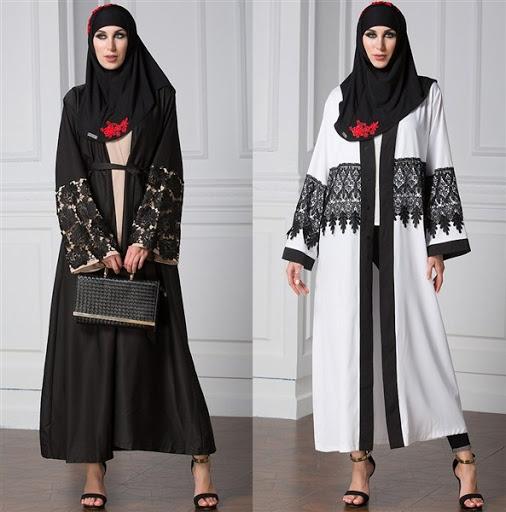 50 Baju Muslim Model Terbaru Trend Desain Modern Modis Elegan 2018