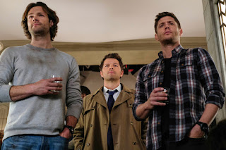 Supernatural Jared Padalecki and Jensen Ackles and Misha Collins