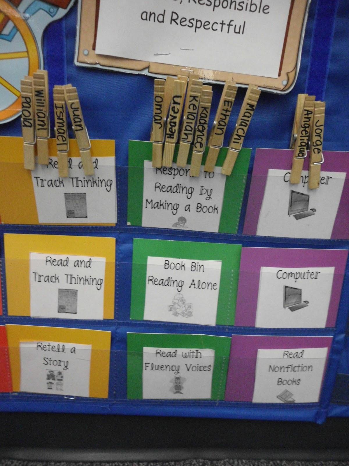 The Go To Teacher Literacy Centers