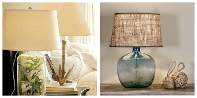 BASE - BOTTLES TABLE LAMPS
