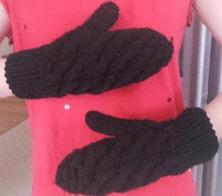 jak zrobić rękawiczki na drutach