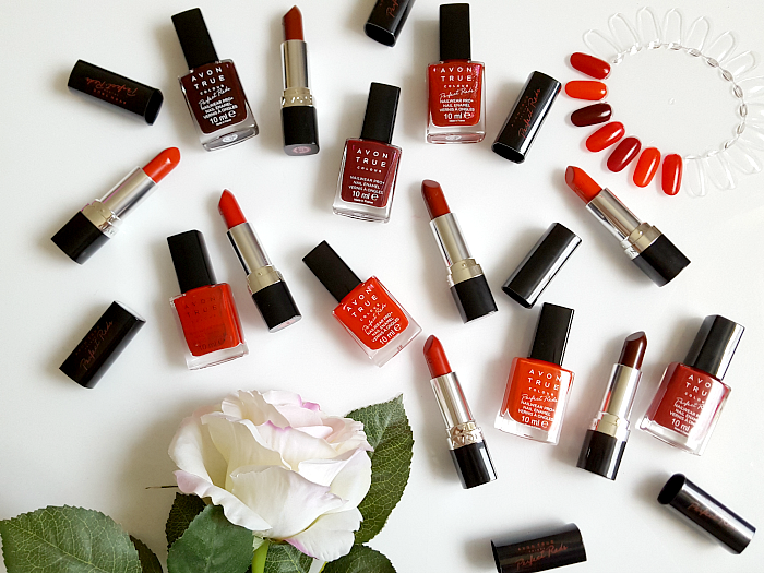 AVON True Colour Perfect Reds Collection - Nailpolishes