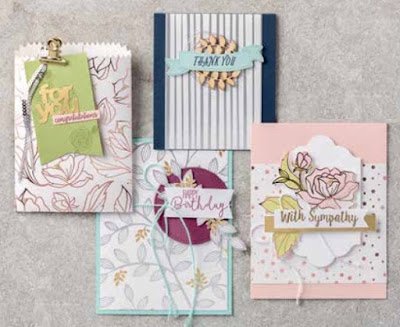 Stampin' Up! 2018 Sale-a-Bration NEW! Three New Gift Options