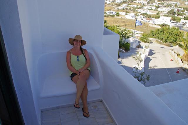 Girl at Tharroe of Mykonos