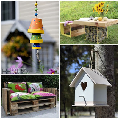 Arredare e decorare il giardino con il fai da te donneinpink magazine - Idee per arredare un giardino ...