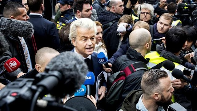 Dutch hard-liner Wilders launches parliamentary campaign by scorning Moroccans