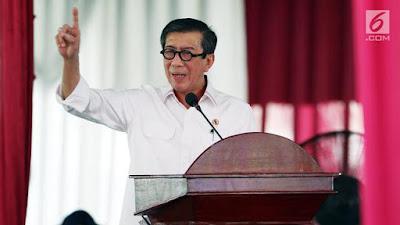 PTUN Bubarkan HTI, Menkum HAM: Hormati Putusan Hakim, Jangan Gaduh - Info Presiden Jokowi Dan Pemerintah