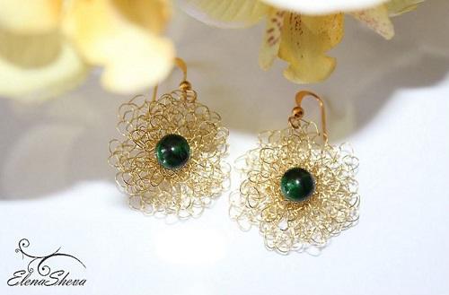 Wire crochet earrings wire center wire crochet earrings tutorials the beading gem s journal rh beadinggem com wire crochet earrings tutorial ccuart Gallery