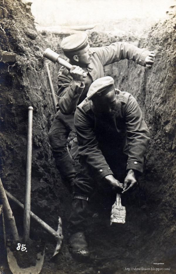 World War I in the trenches