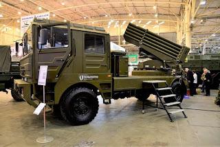 MLRS 122mm BM-21UM Berest