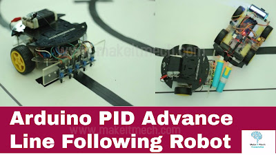 pid arduino advance line following robot