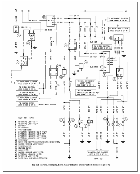 Bmw e39 electrical wiring diagram