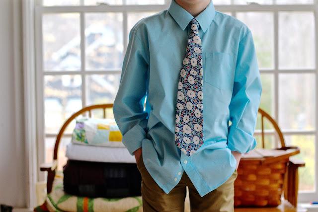 free tie pattern