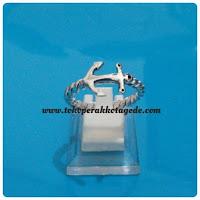cincin jangkar couple perak, ck 052